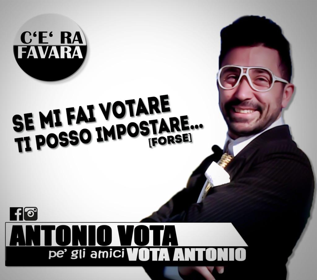 ANTONIO VOTA ANGELO JAY ELEZIONI POLITICHE